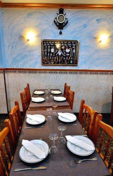 Restaurante con ambiente agradable y acogedor en Los Abrigos