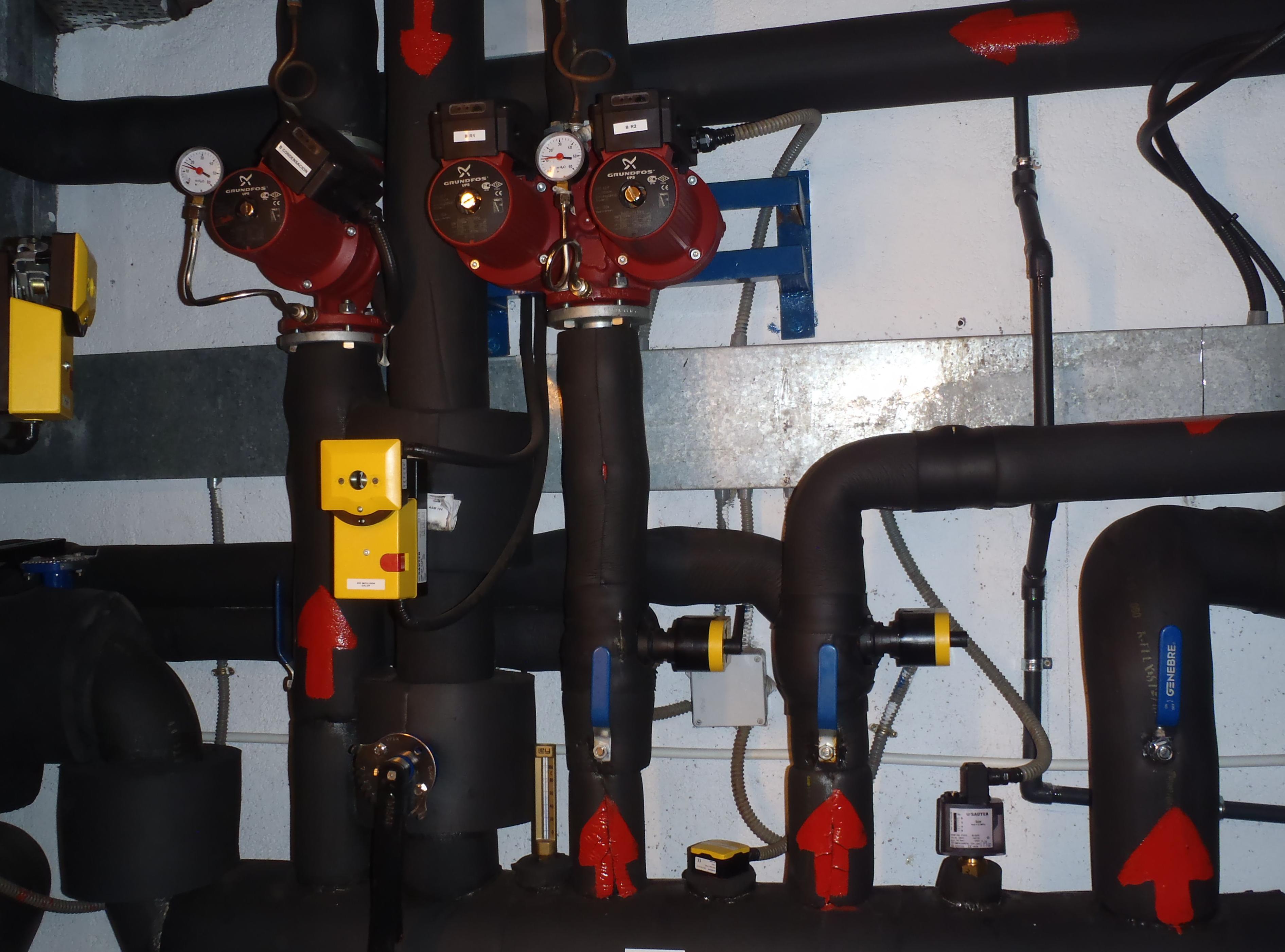Instalación de fontanería en Industria