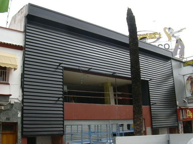 Cerramientos de fachadas