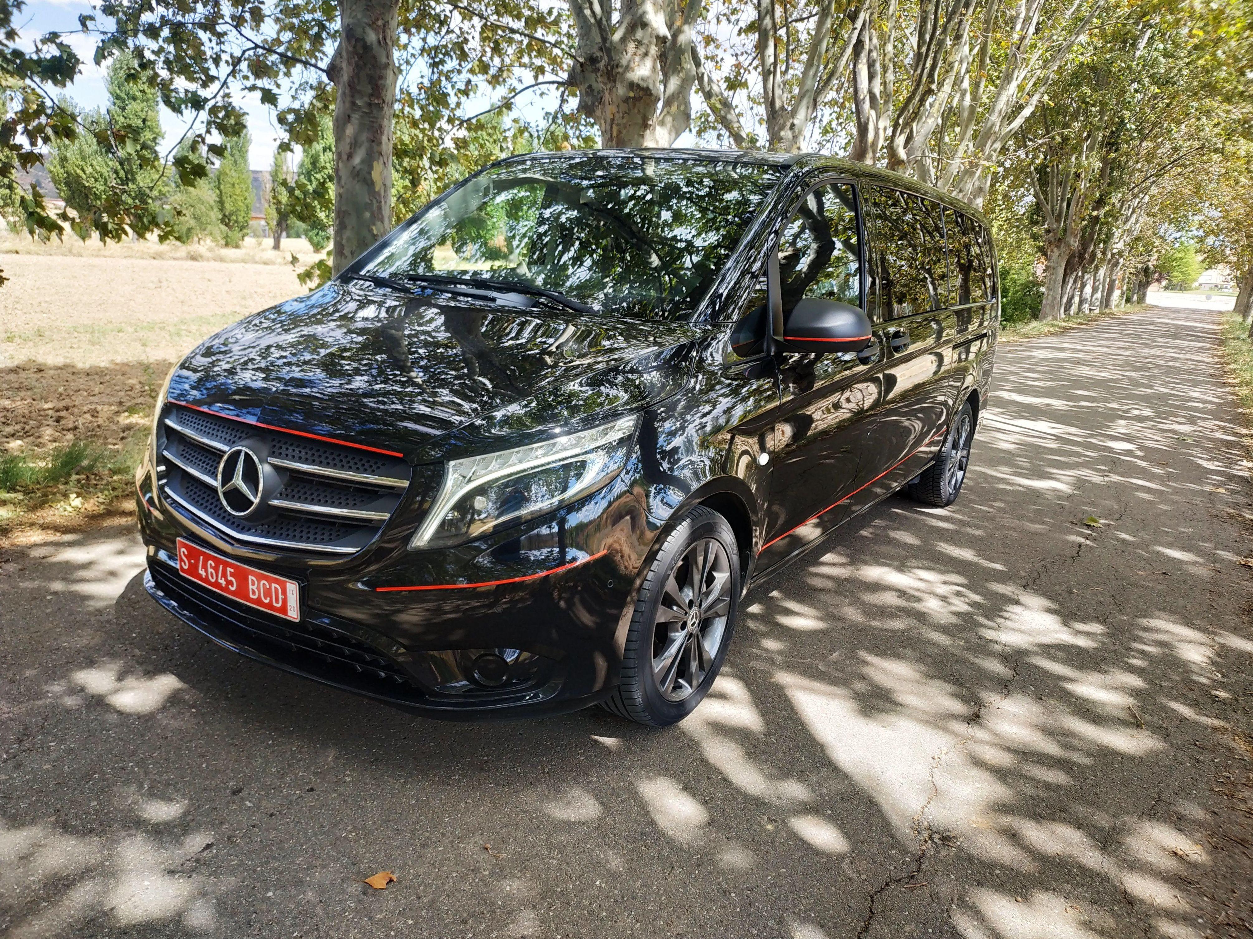 Mercedes Vito Tourer Select 190 cv: PRODUCTOS Y SERVICIOS  de Autotaxi Eliseo