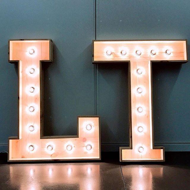 Letras con luz para eventos en Madrid centro