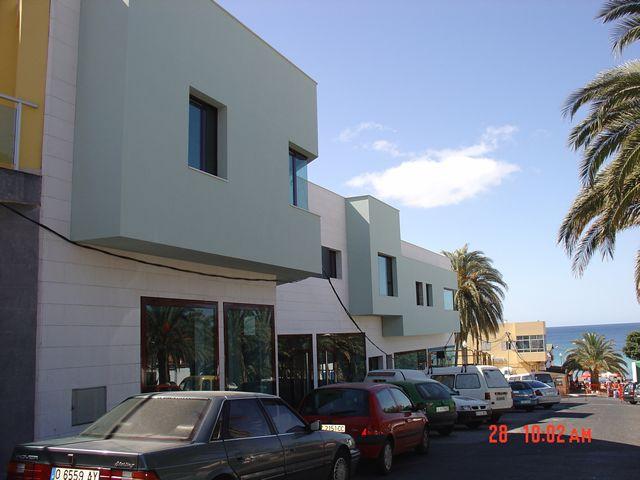 Proyectos de edificaciones colectivas en Fuerteventura