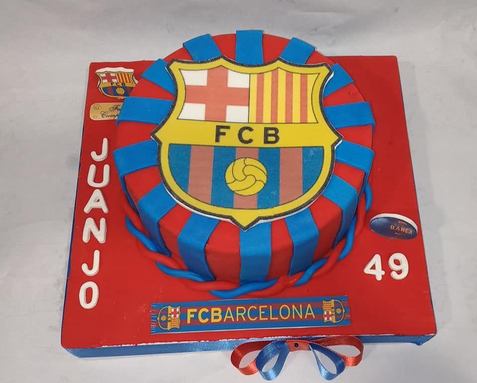 Tartas del FCB