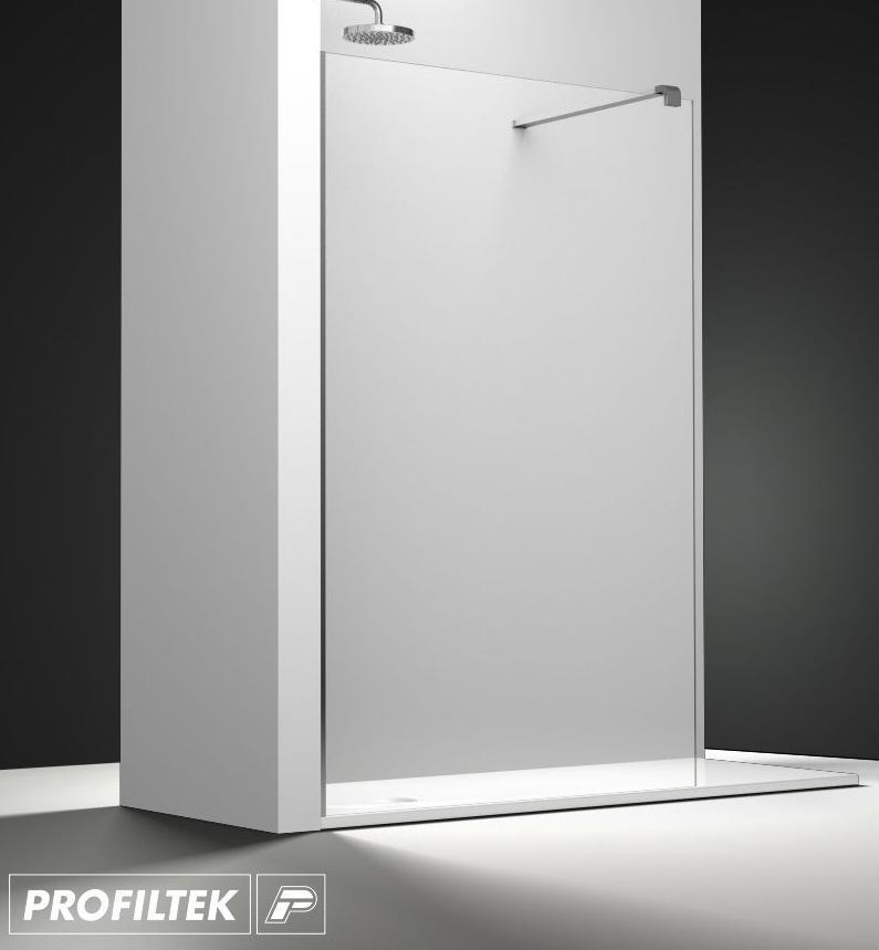 Mampara de ba o a medida profiltek serie belus modelo bs - Profiltek mamparas de bano ...