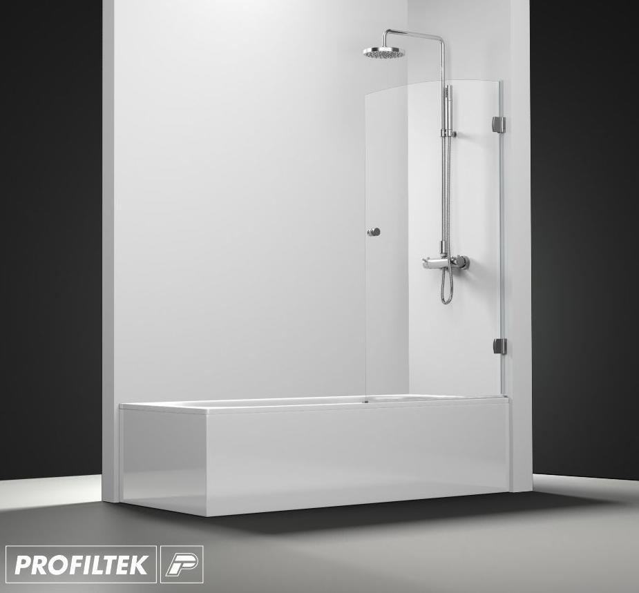 Mampara de ba o a medida profiltek serie newglass - Profiltek mamparas de bano ...