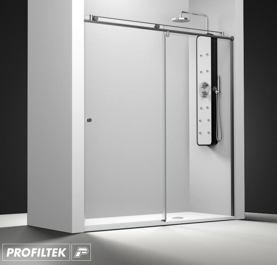 Mampara de ba o a medida profiltek serie steel modelo st 210 light servicios de reformac sant boi - Profiltek mamparas de bano ...