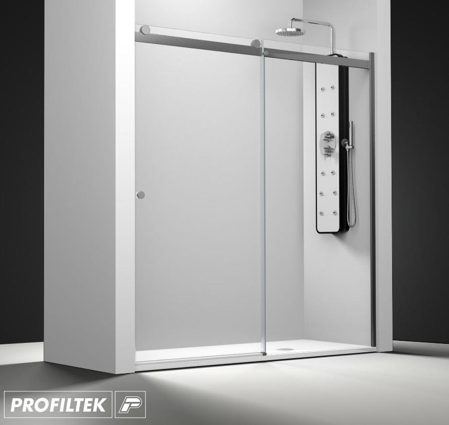Mampara de ba o a medida profiltek serie select modelo slc - Profiltek mamparas de bano ...