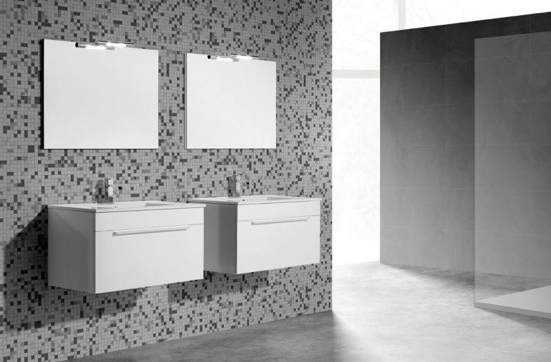Mueble de ba o vidrebany colecci n ambient modelo one for Muebles en sant boi