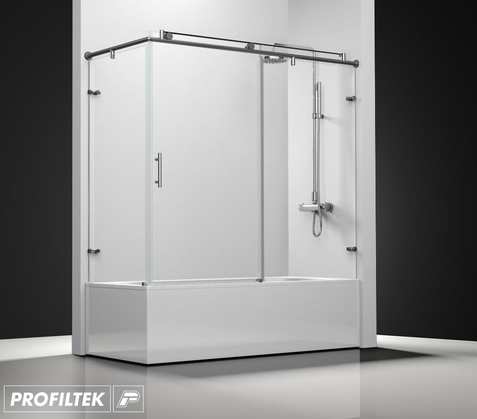 Mampara de ba o a medida profiltek serie steel modelo st 101 classic servicios de reformac - Profiltek mamparas de bano ...