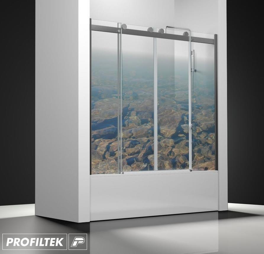 Mampara de ba o a medida profiltek serie select modelo slc 125 servicios de reformac sant boi - Profiltek mamparas de bano ...
