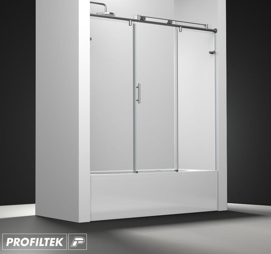 Mampara de ba o a medida profiltek serie steel modelo st - Profiltek mamparas de bano ...