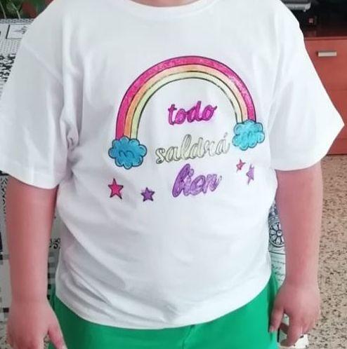 Camisetas  infantiles para pintar