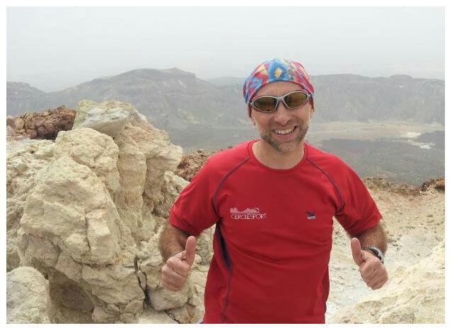El David al cim del Teide