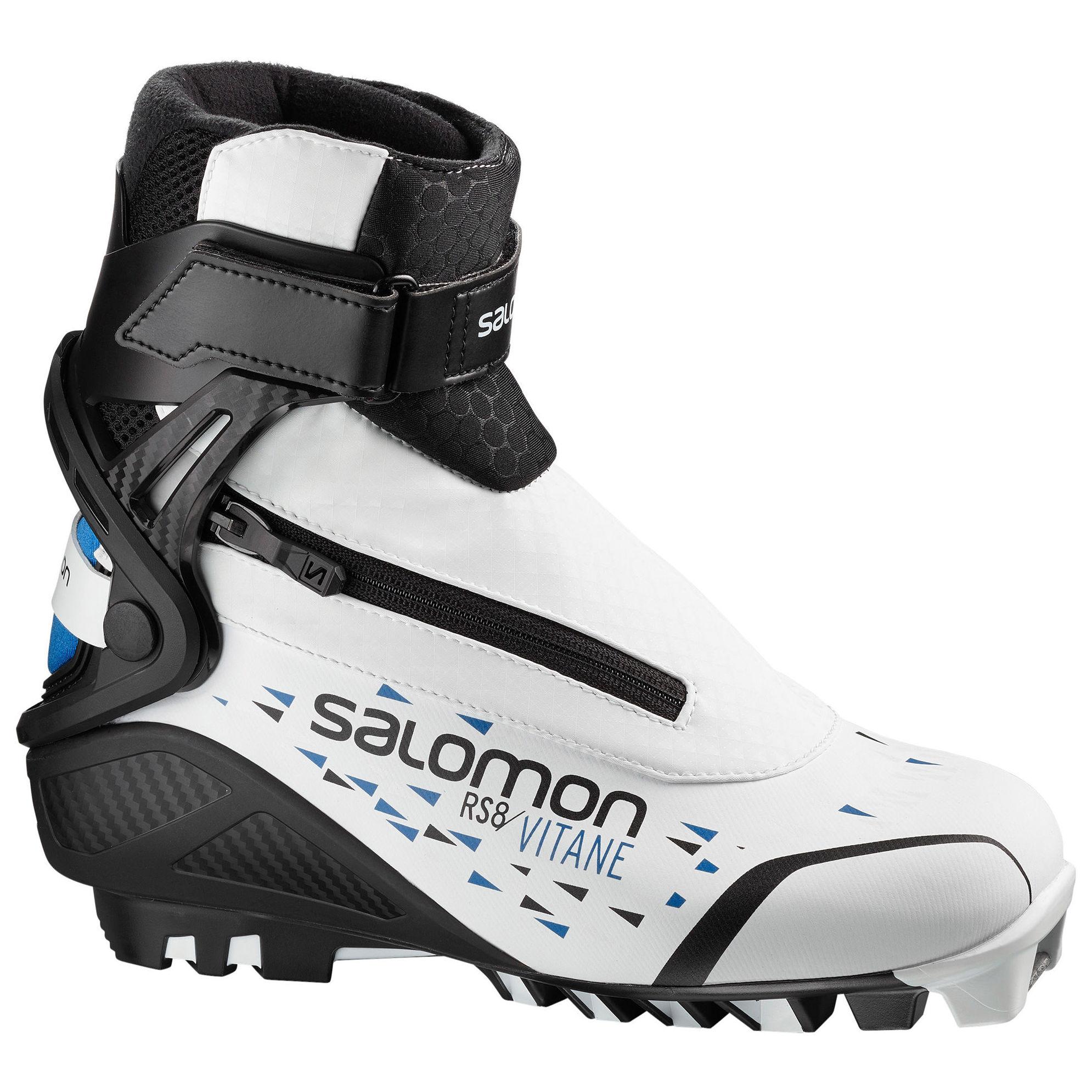 Botas Salomon para esquí de fondo, modalidad patinador