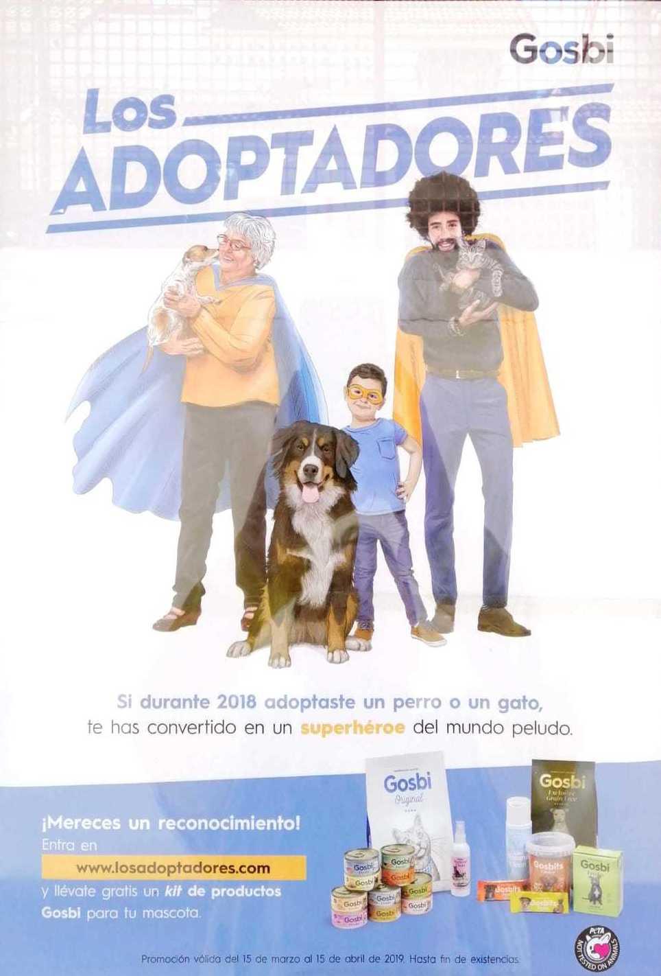 Premio para los adoptadores en Móstoles