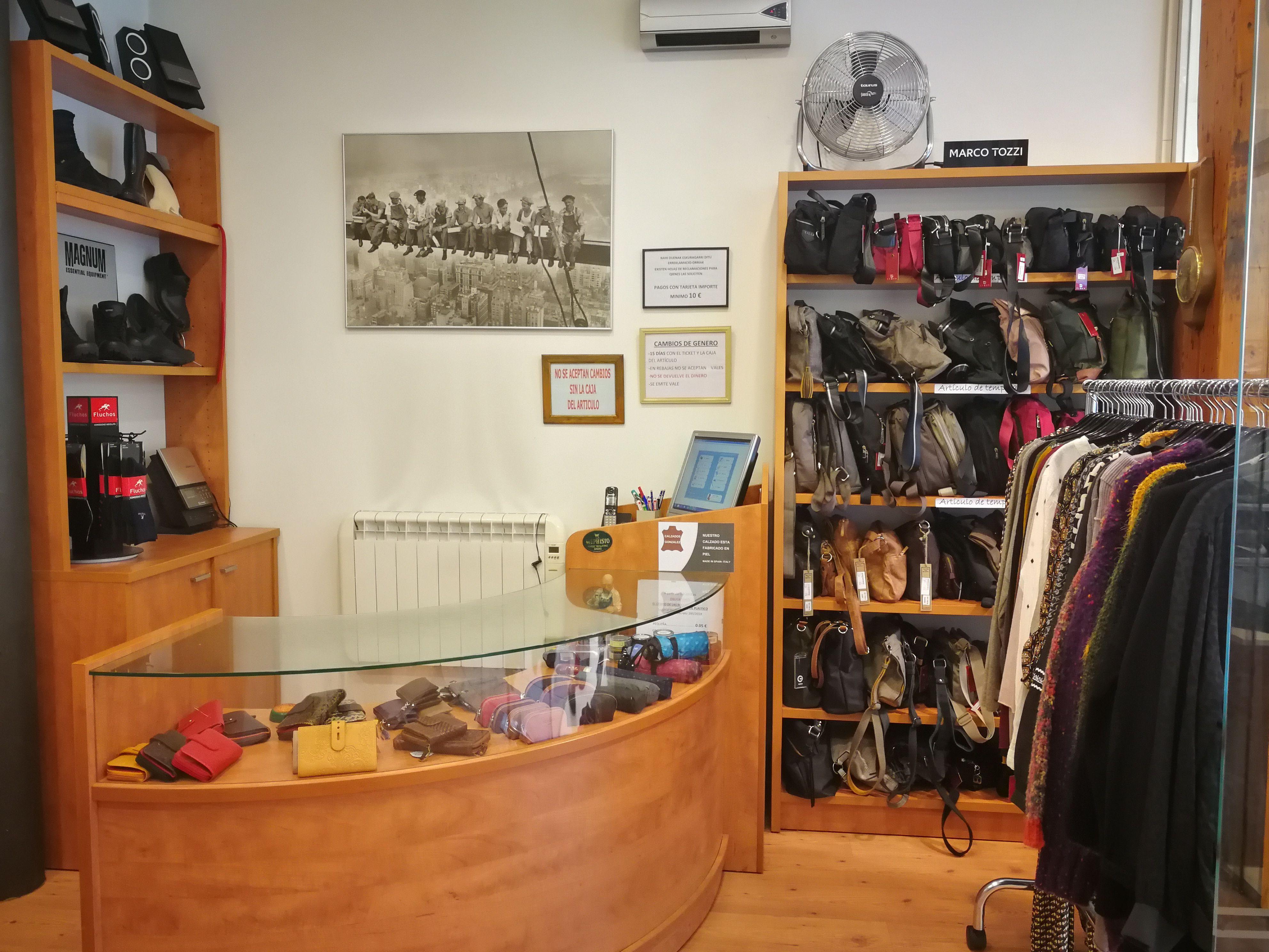 Zapaterías en Donostia