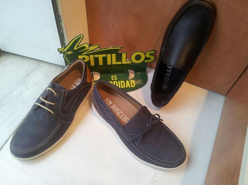 zapato pitillos hombre