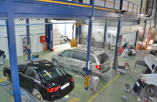 Interior del taller