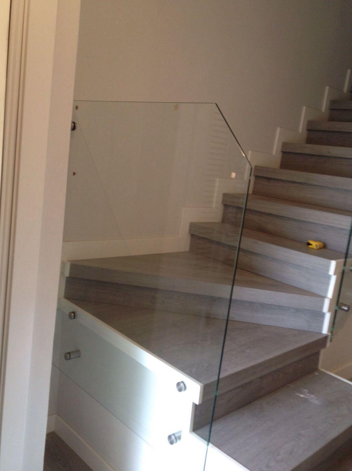 Barandillas de cristal para escaleras Parla