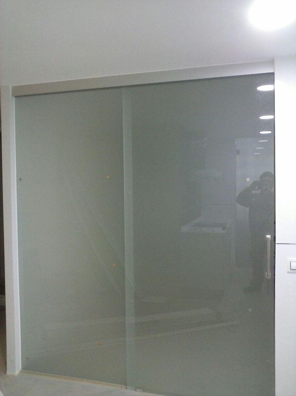 Puertas de cristal Parla