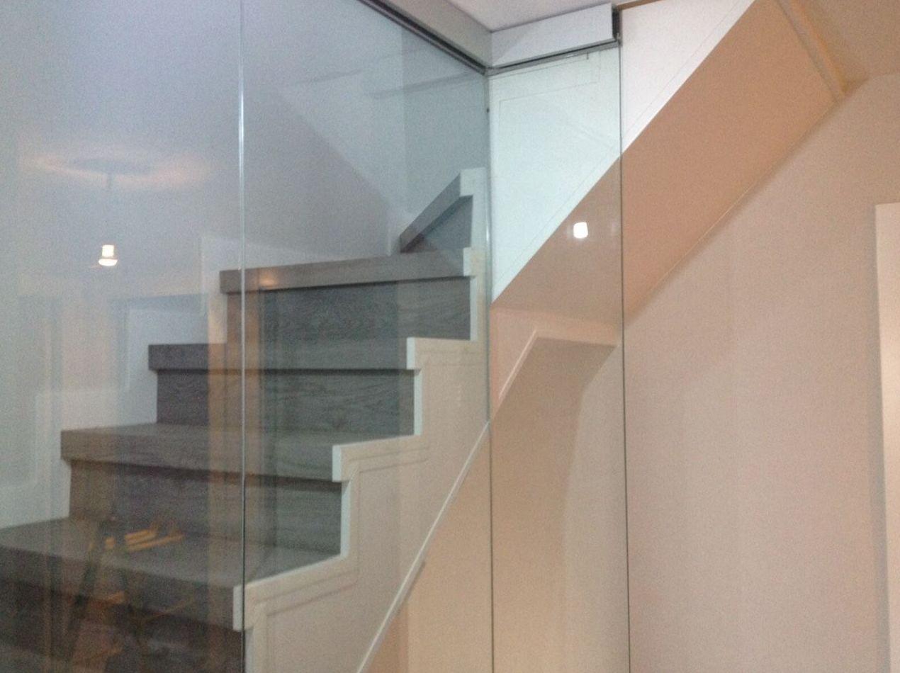 De Cristal Para Escaleras Servicios De Nieto ~ Barandillas De Cristal Para Escaleras Interiores