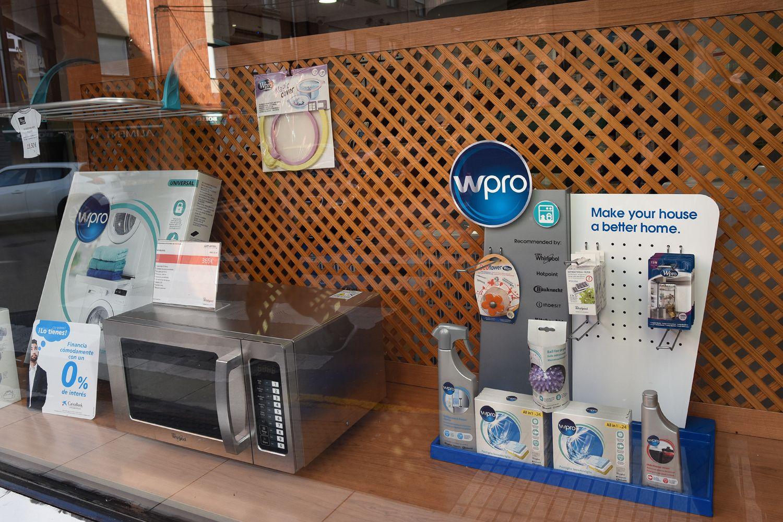 Venta de electrodomésticos en Gijón