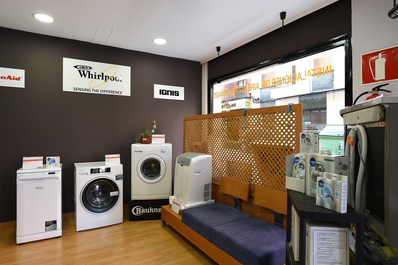 Tienda de venta de electrodomésticos de las mejores marcas