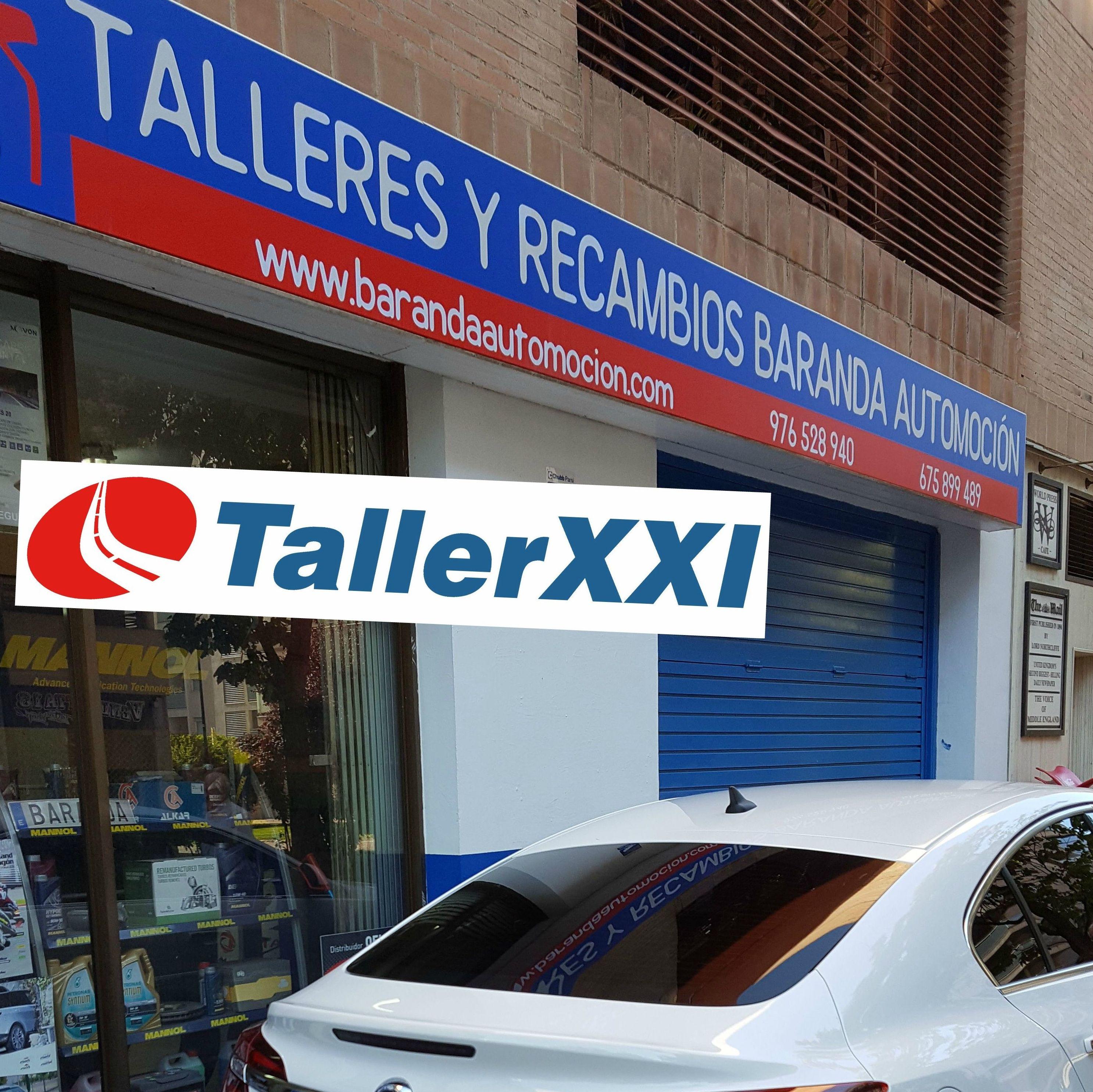 Taller XXI: Nuestro taller de Talleres Baranda Automoción