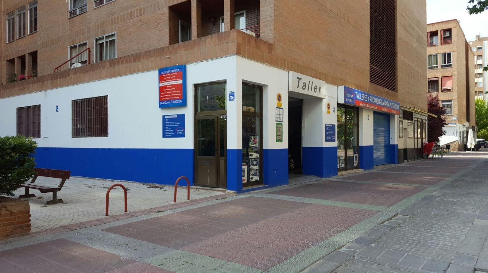 Talleres Baranda Automoción, Zaragoza