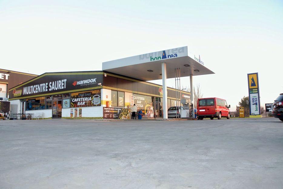 Estación de servicio en Alcarràs, Lleida
