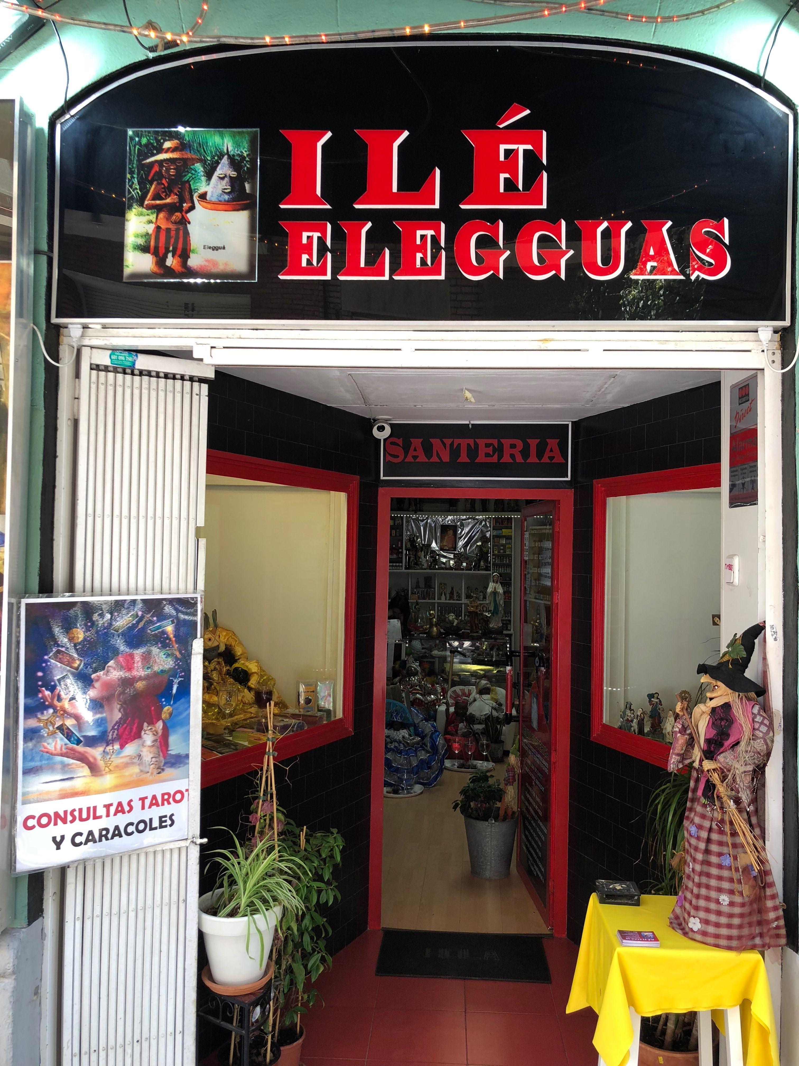 Tienda esotérica en Les Corts, Barcelona