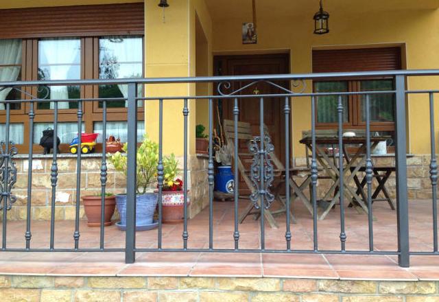 Barandillas para balcones y terrazas