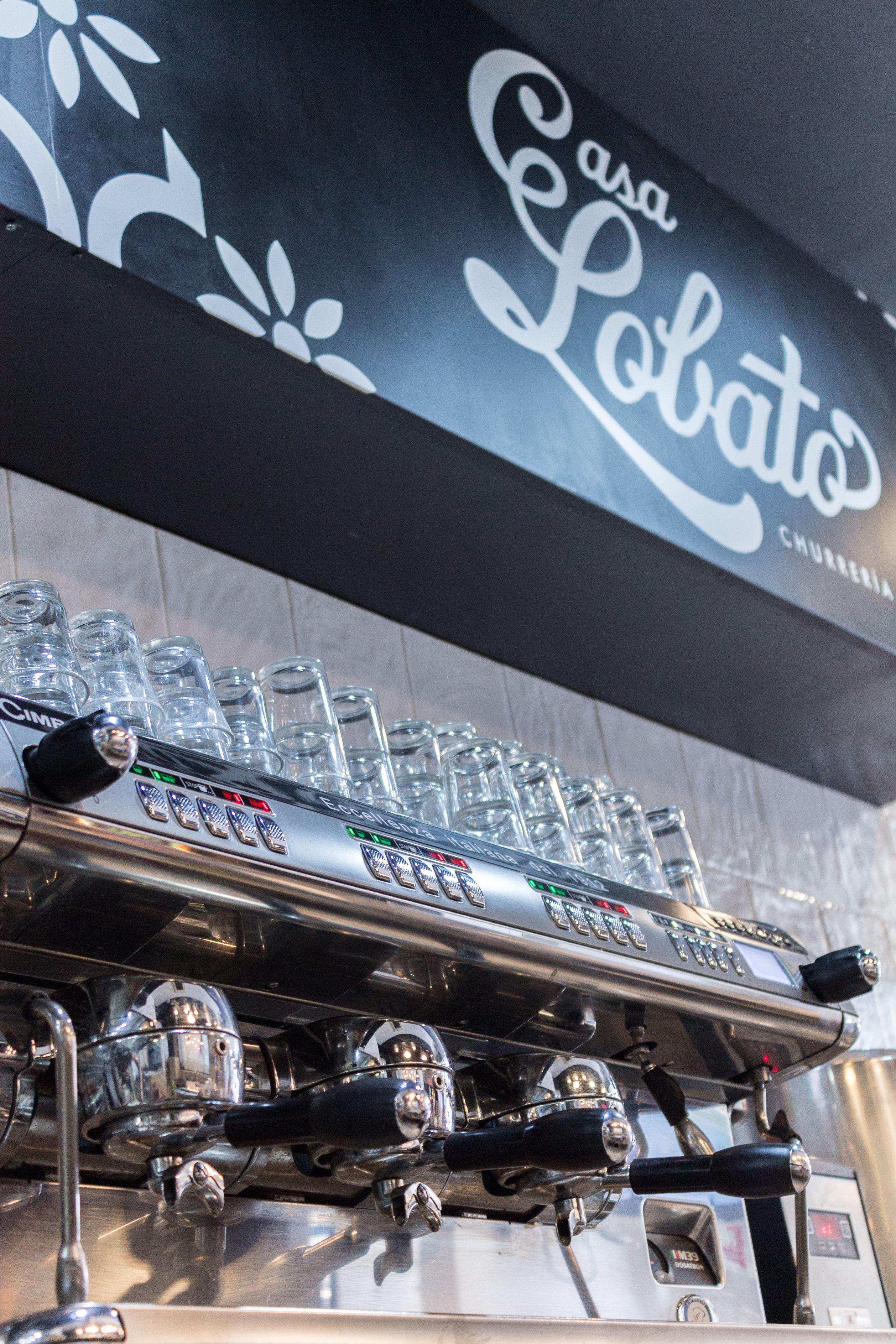 Cafetera del Restaurante Casa Lobato