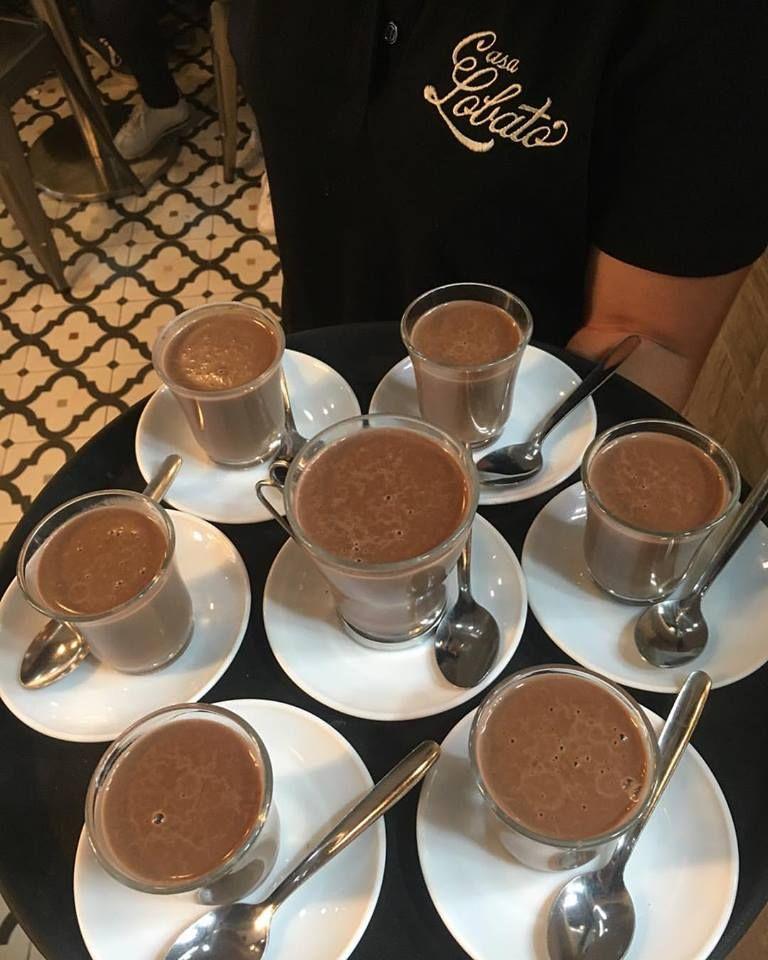 Delicioso chocolate con churros en Málaga