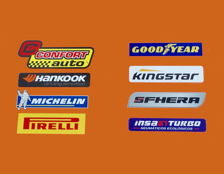 Marcas de neumáticos con los que trabajamos