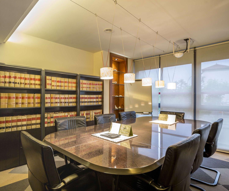 Sala de reuniones de nuestro despacho jurídico en Valls
