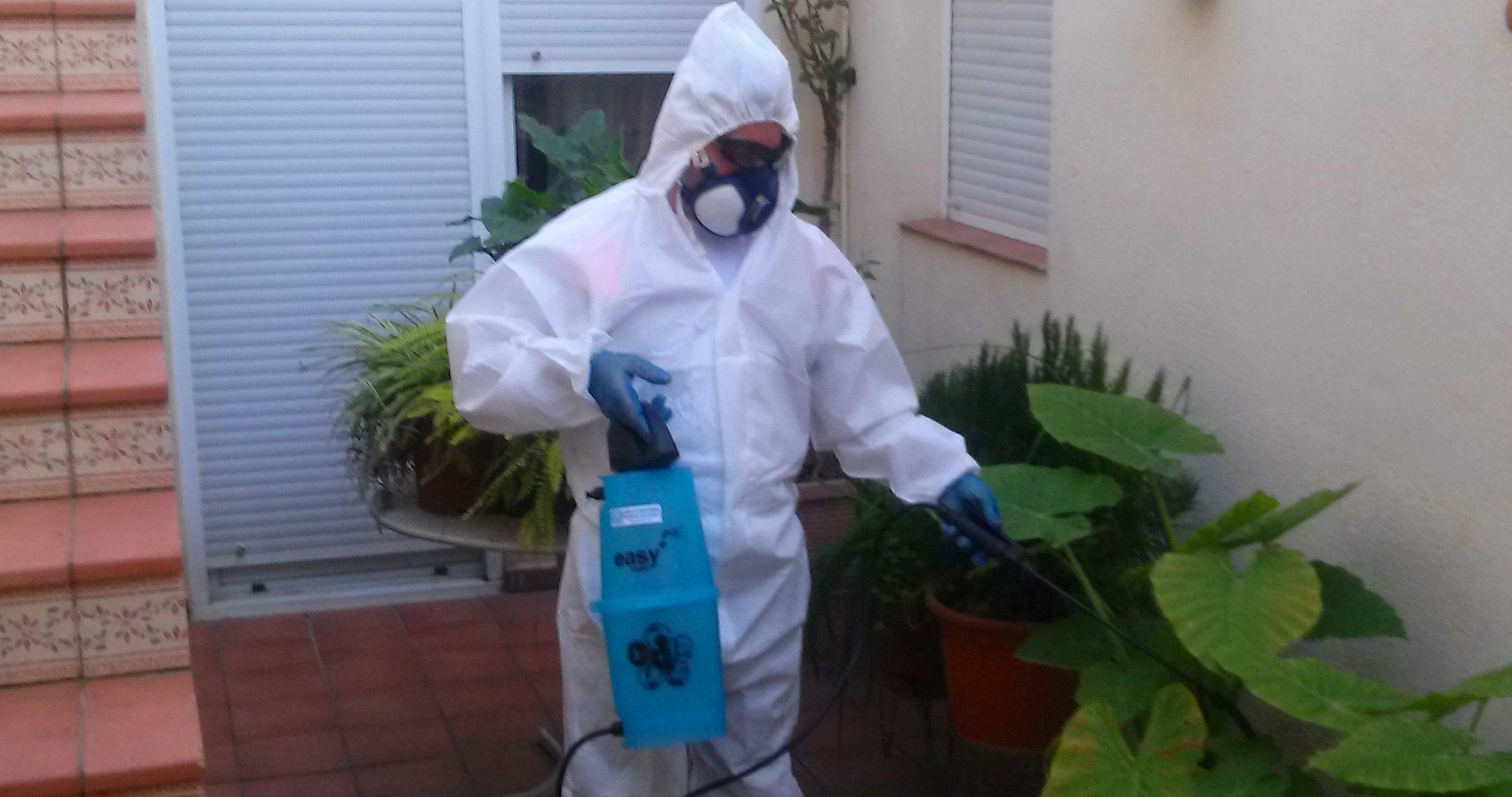 CAT\u002DH2O control de plagas