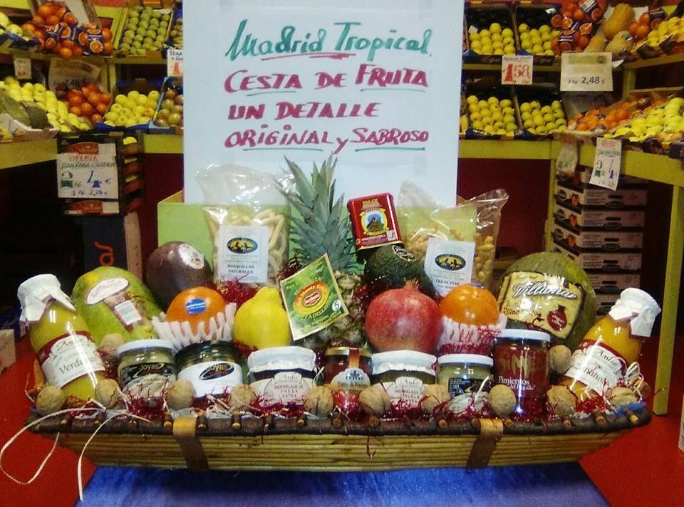 Cestas de frutas y verduras de temporada en Chamberí