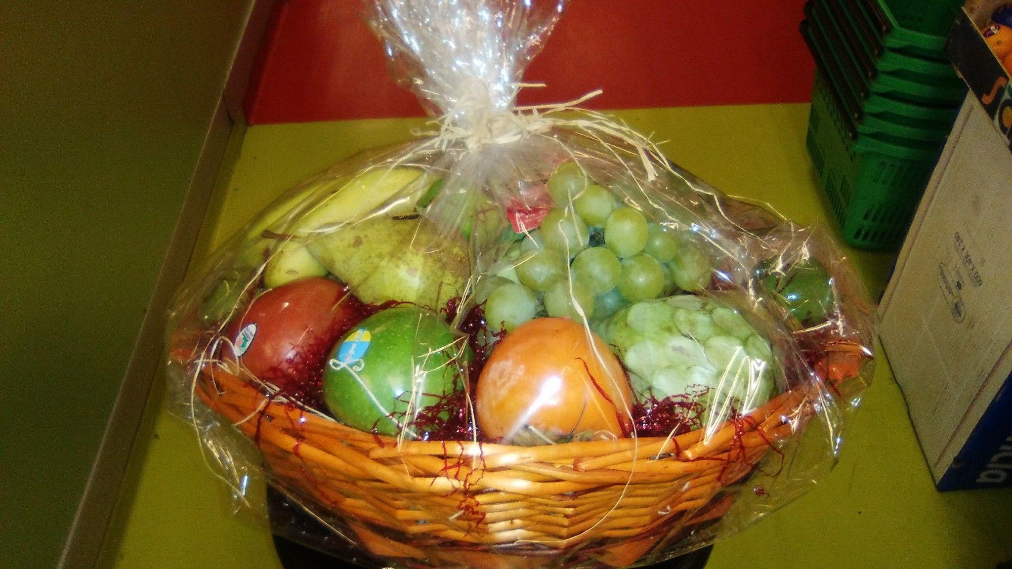 Cestas de frutas en Chamberí