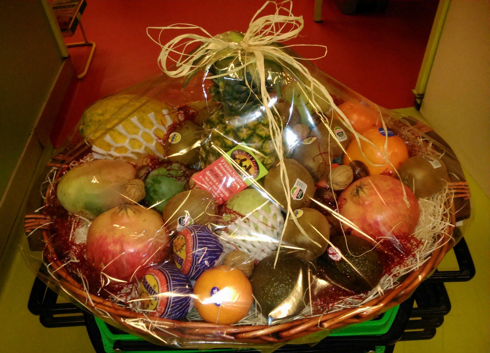 Cestas de frutas originales en Chamberí