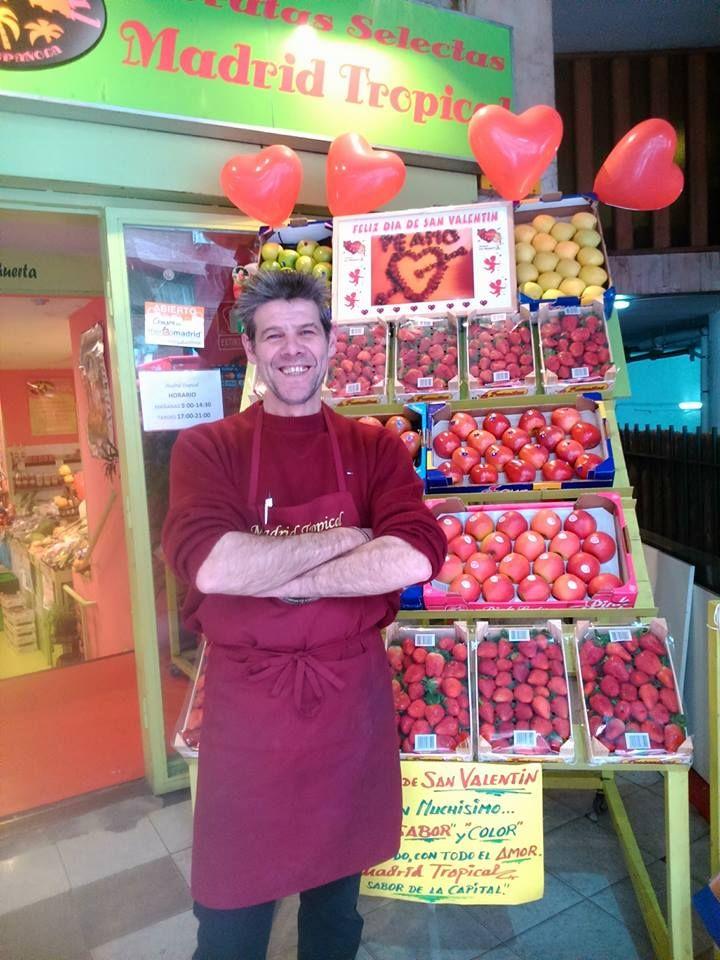 Negocio especializado en frutas y verduras en Chamberí