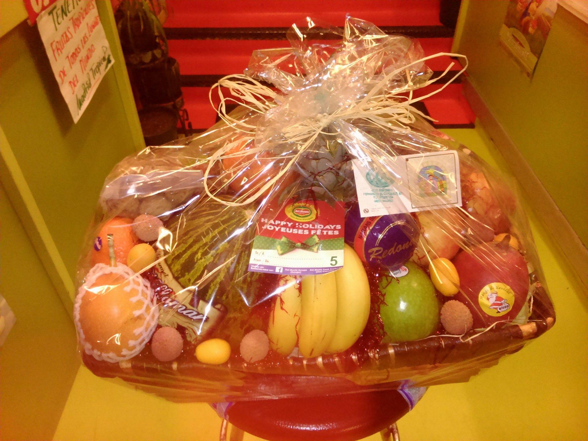 Cestas de frutas originales en Argüelles, Moncloa