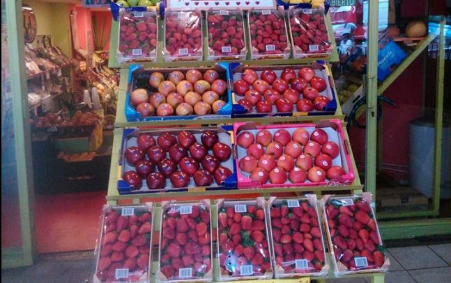 Frutas a domicilio en Chamberí
