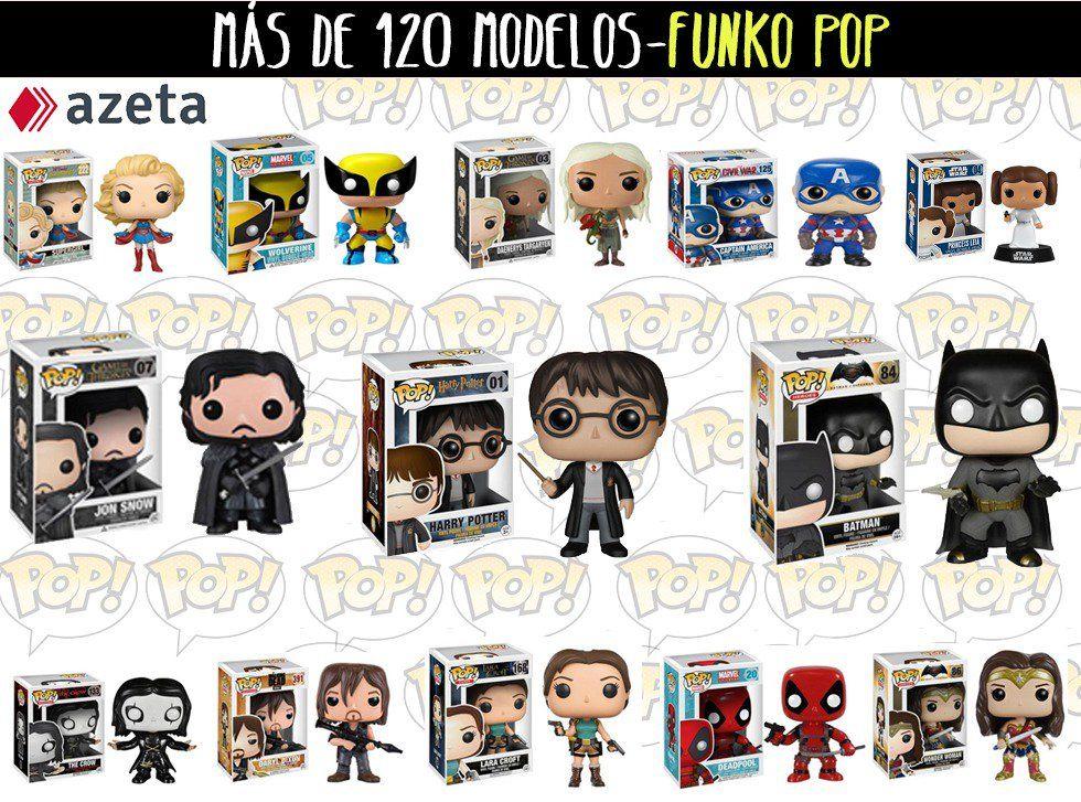 Más de 120 modelos- Funko Pop en Málaga