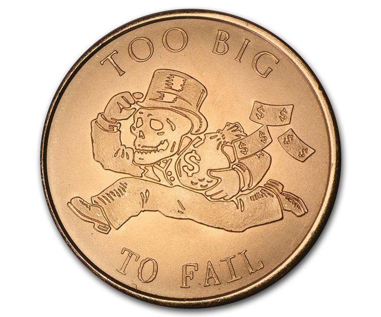 Moneda de cobre de 1 onza de peso