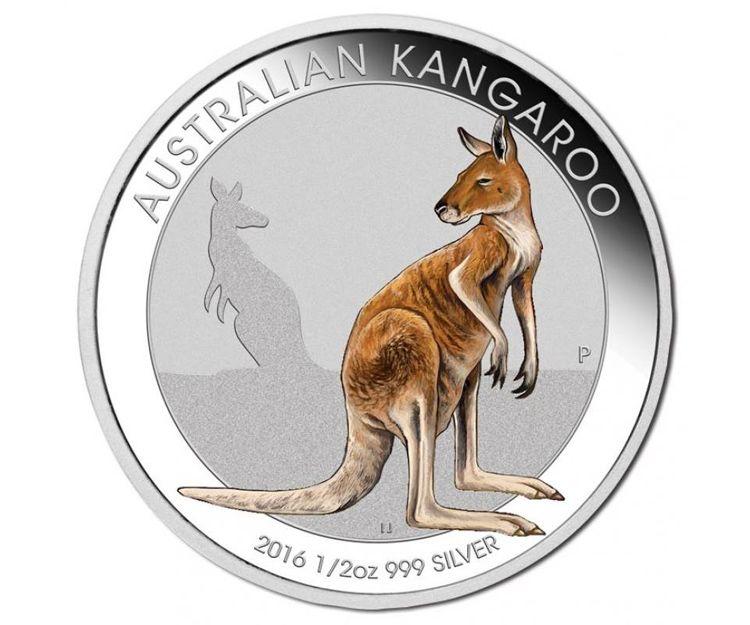 Kangaroo - Media onza de plata