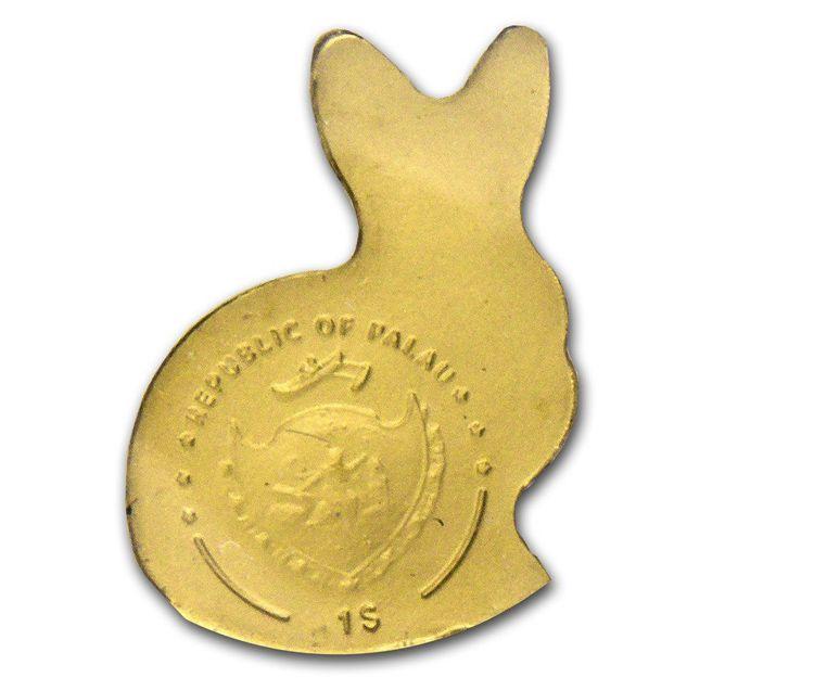 Conejito 0.5 gramos de oro puro 24k