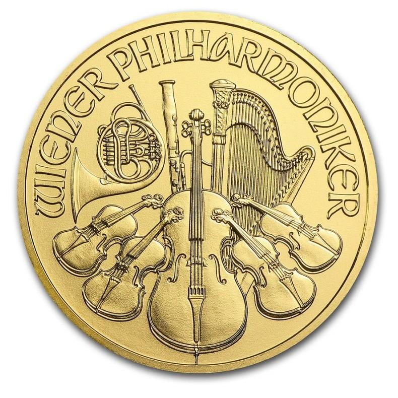 Moneda de Oro Filarmónica de Viena