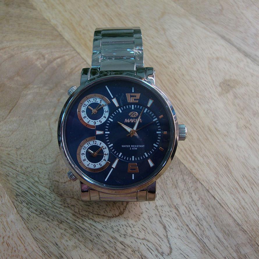 Reloj deportivo de acero Marea