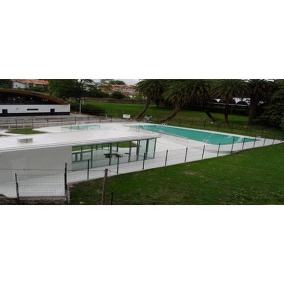 Construcción de piscinas y cafetería: Servicios de TIDEA